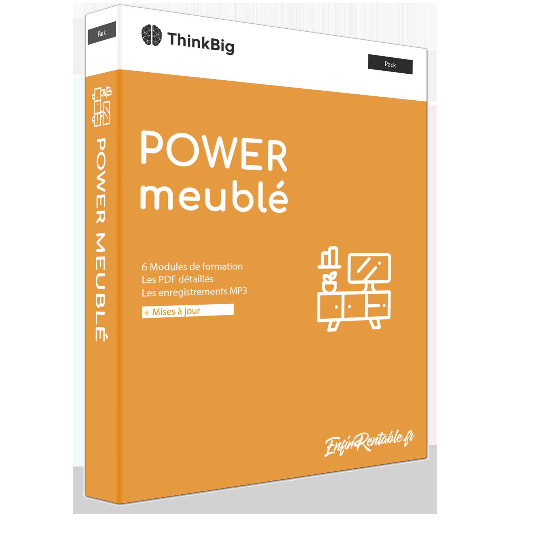 Offre Power Meublé